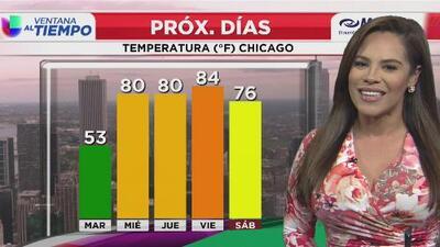 A Chicago le espera un martes frío y con altas probabilidades de lluvias