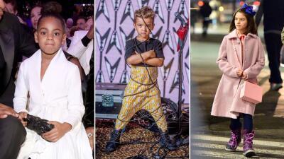 Al último grito de la moda: los hijos de Nacho y Galilea no son los únicos fashionistas