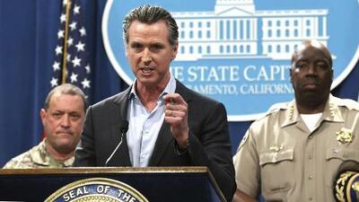 En abierto rechazo a la política de Trump, gobernador de California retirará la Guardia Nacional de la frontera con México
