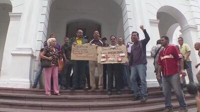 Exigen que sea entregada ayuda humanitaria en Venezuela