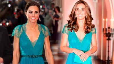 Kate Middleton repite un vestido que lució hace seis años (¡y le queda perfecto!)