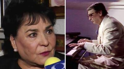 Carmen Salinas reaccionó conmovida a la muerte del padre de sus hijos