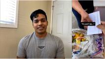 Este hispano consiguió $90,000 usando TikTok y los donó a vendedores ambulantes en California