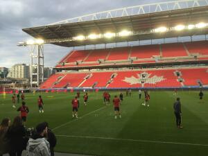 El BMO Field, casa de Toronto FC, reabre sus puertas tras renovación
