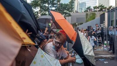 Los manifestantes en Hong Kong son rebeles pero extremadamente limpios