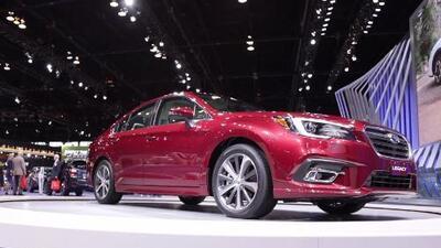 Subaru refresca a su Legacy 2018 y lo presenta en el Auto Show de Chicago 2017