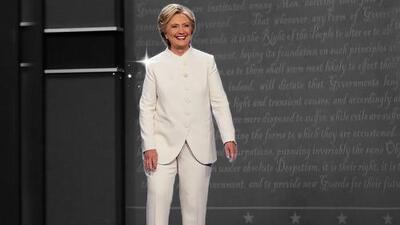 Hillary Clinton tiene un amuleto que la llena de confianza en los debates