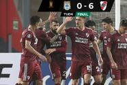 River Plate golea con autoridad a Binacional en la Libertadores