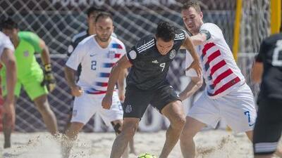 """¡No se aprende! En la Final de fútbol playa entre México y EEUU se escuchó el """"Ehhh Pu%$#!"""""""