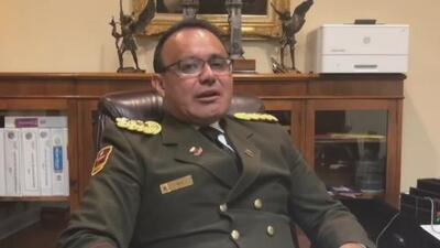 """""""Me cansé de ver sufrir a mi gente"""": agregado militar de la Embajada de Venezuela en Washington"""