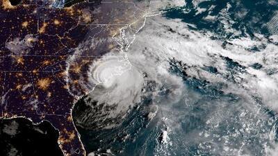 El pronóstico de la trayectoria del huracán Florence tras tocar tierra en Carolina del Norte