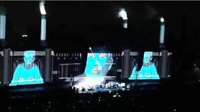 El músico Roger Waters aprovechó su concierto en México para protestar en contra de Peña y Trump