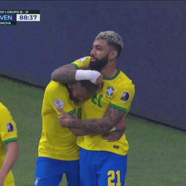 ¡Llegó el tercero! Gabigol marca el 3-0 sobre Venezuela