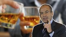 Memes ponen a Felipe Calderón como un borracho: Así reaccionó el expresidente mexicano