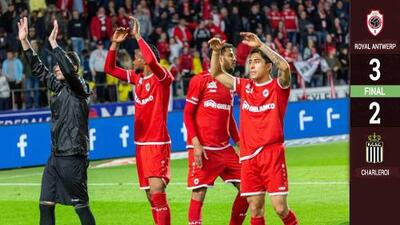 Con voltereta, Omar Govea y el Royal Antwerp jugarán la Europa League
