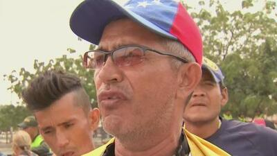 Voluntarios siguen en la frontera de Venezuela e insisten en el paso de la ayuda humanitaria