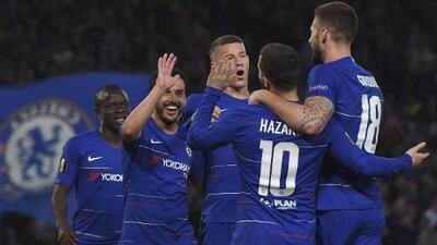 Chelsea 4-3 Slavia Praga - GOLES Y RESUMEN - Vuelta - CUARTOS DE FINAL - UEFA Europa League