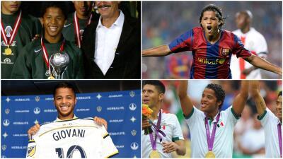 Los pasos de Giovani Dos Santos: de campeón del Mundial Sub-17 al Nido