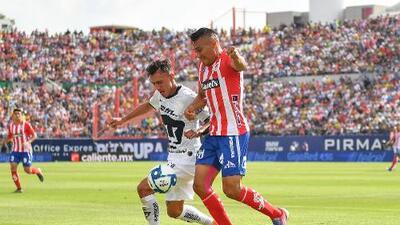 Cómo ver Pumas vs. Atlético San Luis en vivo, por la jornada 1 de la Copa MX 2019