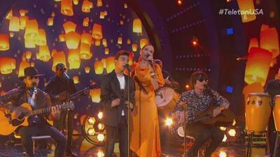 Una canción convertida en himno: TeletónUSA vibró con la mágica interpretación de 'Solo le pido a Dios'