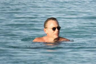 Daniel Craig se olvidó de James Bond en las islas Turcas y Caicos