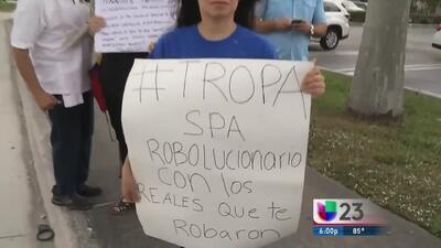 Venezolanos protestaron en supuesta propiedad de diputada oficialista