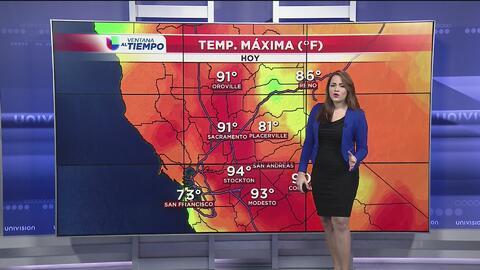 Aumento de temperaturas en Sacramento