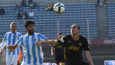 El Málaga termina su gira por Sudamérica con un triunfo frente a Peñarol
