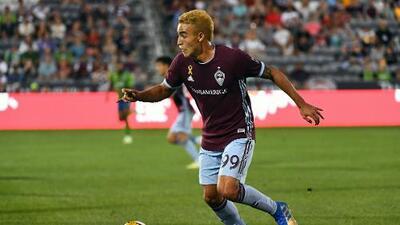 Joven delantero de Colorado Rapids es elegido como el Jugador de la Semana en MLS