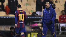 ¡Roja a Messi! Lionel perdió la cabeza y agredió a rival
