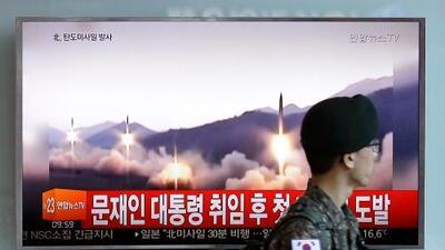 Trump llama a endurecer las sanciones contra Corea del Norte tras otra prueba con un misil