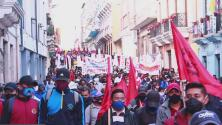 Ecuador vive una nueva jornada de protestas en contra del gobierno de Lenín Moreno
