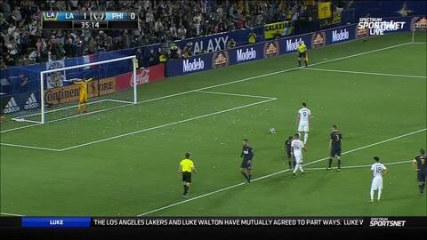 Zlatan ya lleva doblete y continúa su paso arrollador en la MLS con L.A. Galaxy