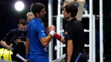 Thiem y Medvedev eliminan a Djokovic y Nadal de Copa Masters