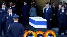 Israel comienza los preparativos para dar el último adiós a Shimon Peres