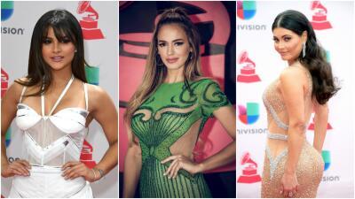 Así fueron los looks de estos famosos en la alfombra roja de Latin GRAMMY