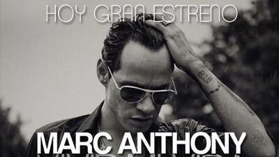 "Marc Anthony Estrena Sencillo ""Vivir Mi Vida"""