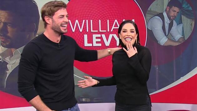 Karla Martínez se atrevió a darle una nalgada a William Levy y esta fue su reacción