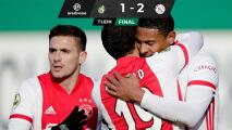 Ajax derrota al Fortuna Sittard y se mantiene como líder