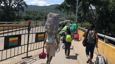 Los caminantes de Venezuela
