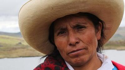 La campesina peruana Máxima Acuña demanda a su país ante la Corte Interamericana de Derechos Humanos por no protegerla