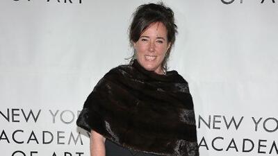 La empresa de la difunta Kate Spade combatirá el suicidio en su memoria