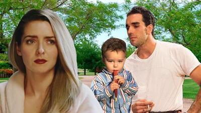 """""""Ahí está tu padre con otra"""": así le dijo Ariadne Díaz a su hijo al ver a su esposo en un parque"""