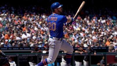 Alonso logra récord en triunfo de Mets sobre Giants