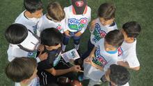 NFL México realizó Clínica Play 60 Character Camp en Deportivo Alfredo Harp Helú de UNAM