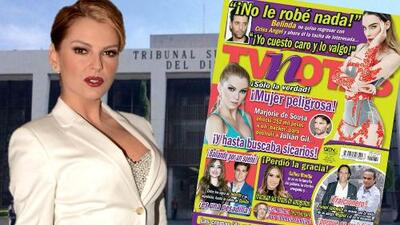 Marjorie de Sousa gana demanda a TVNotas por supuestas conversaciones con Geraldine Bazán
