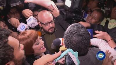 Sylvia Pasquel ignora a la prensa y no quiere contestar sobre Frida Sofía y Jaime Garza