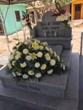 Guasave, Sinaloa, rindió homenaje a Chayito Valdez al celebrarse un año de su muerte