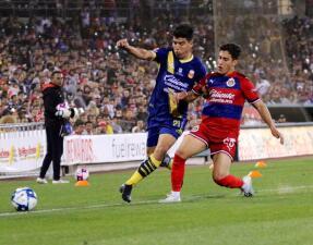En duelo amistoso, Guadalajara cae ante Morelia 1-0