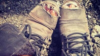 Así se verán los zapatos de Maite Perroni en La Gata